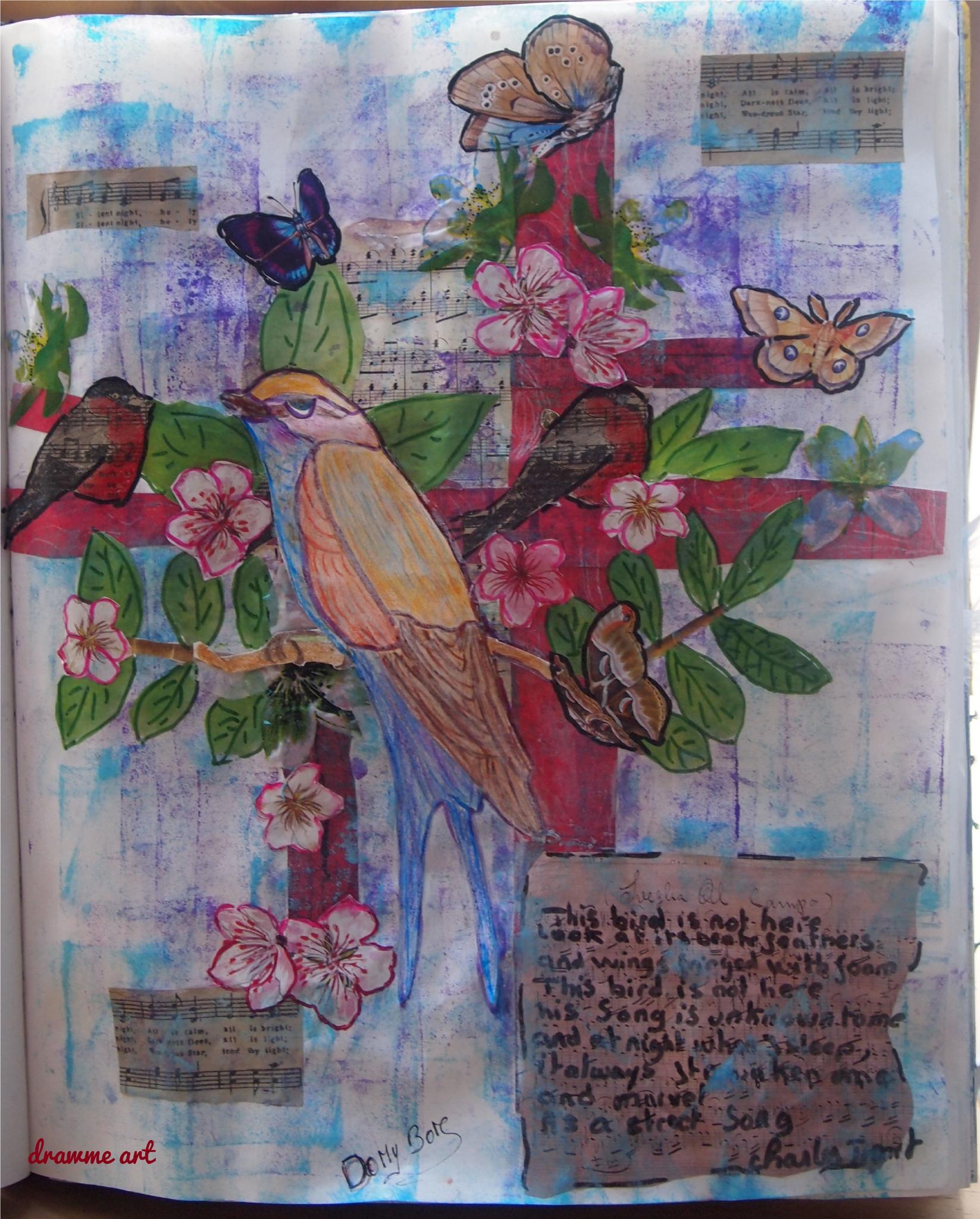 Art journal Prompts - 42 Sing