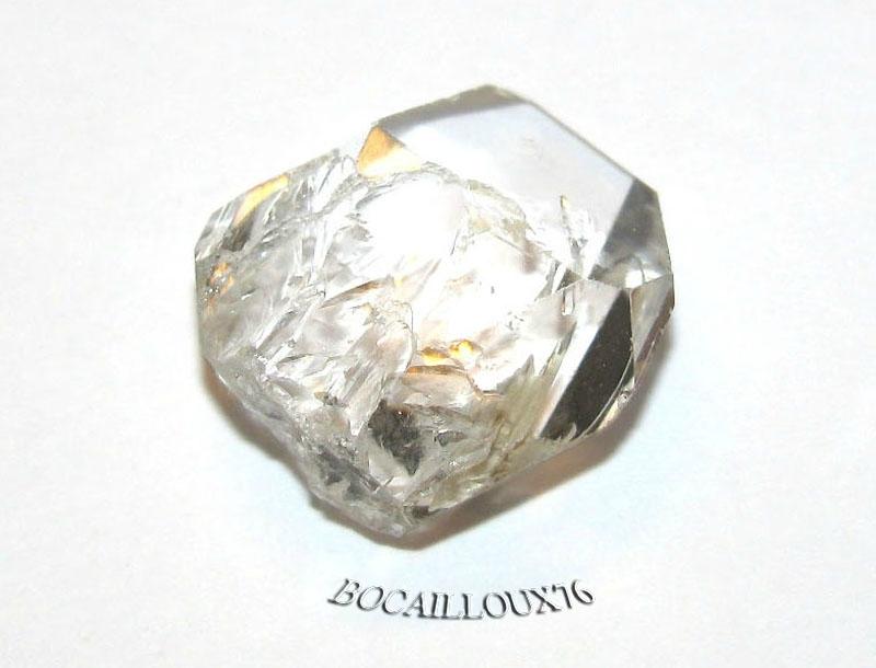 QUARTZ Diamant d'Herkimer 8 Naturel - LITHOTHERAPIE