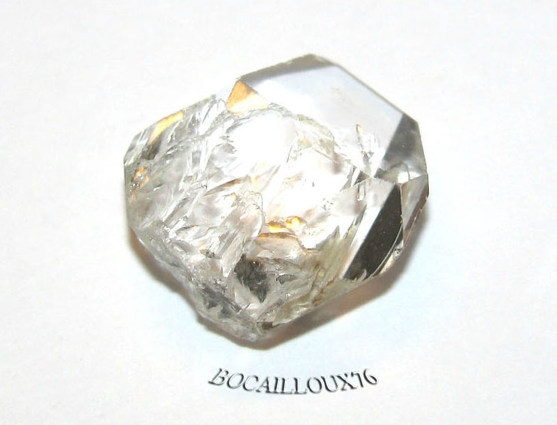 QUARTZ Diamant d'Herkimer 8 Naturel - LITHOTHERAPIE
