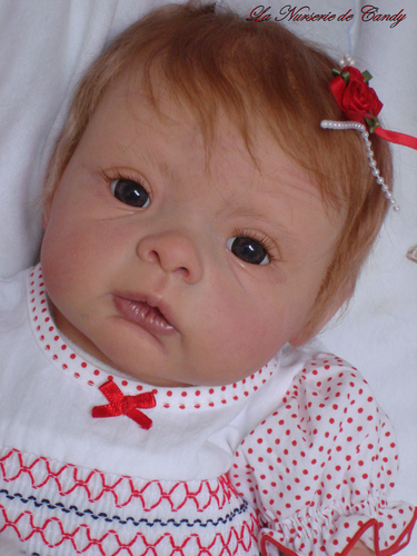 n4 petite fille reborn rousse