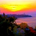 Dellys et la mer, un coucher de soleil exceptionnel sunset