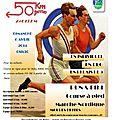 50 km de vergèze 2014 , 40ème édition