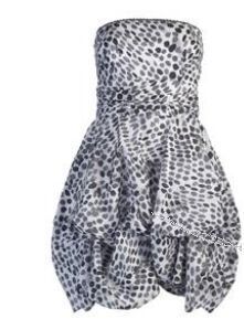 Robe_bustier_grise