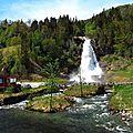 Paysages saisissants de norvège