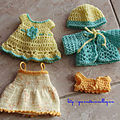 Du tricot et crochet pour les mini-corollines une