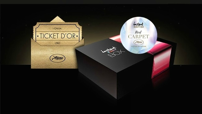 l oreal instant beauty box red carpet