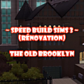 Speed build sims 3 - the old brooklyn