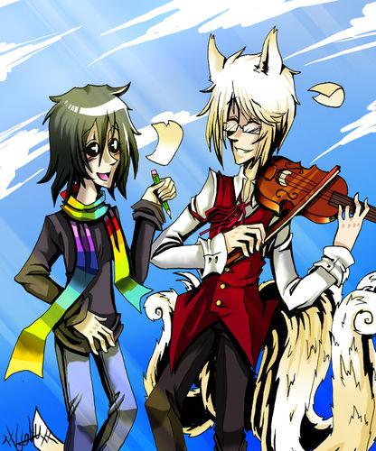 Jiji et Momo - Goku Noa