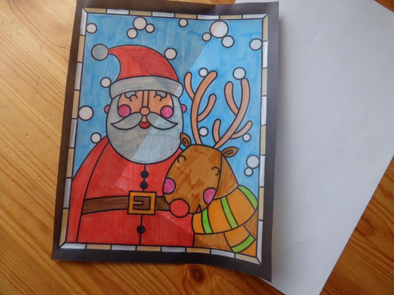 Je décore mes fenêtres pour Noël (3)