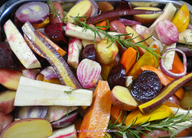 Légumes d'automne confits au miel