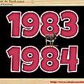 .CLASSE en : 1983 / 84