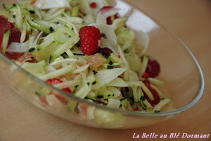 Salade_courgette_fenouil_framboise