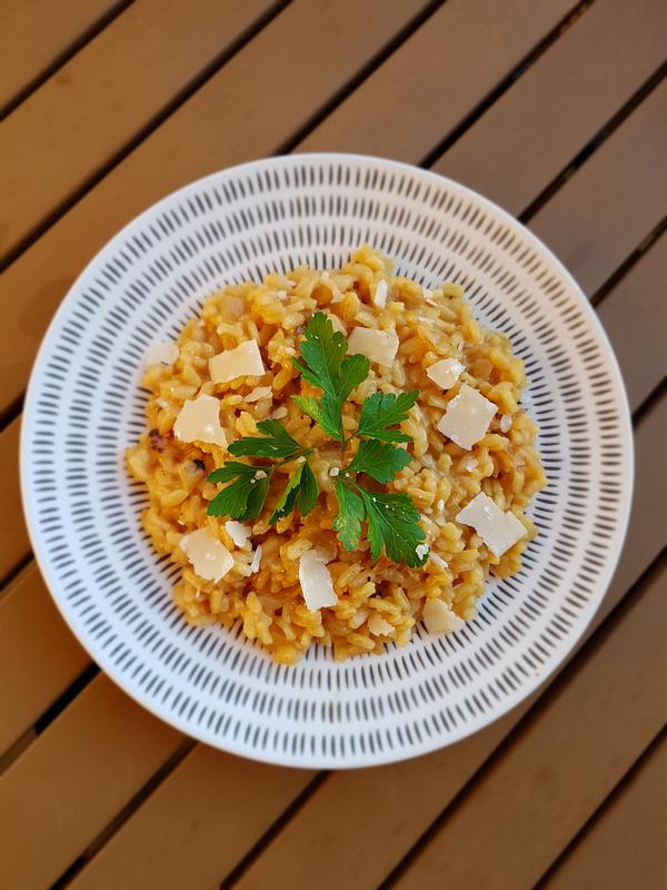 chez cathytutu tous en cuisine cyril lignac risotto cerson jus de viande (3)