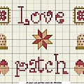Grille 84 : love patch