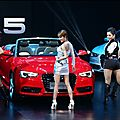 [edit: video] jolin at audi a5 fashion night party in beijing