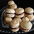 Macarons amandes nutella