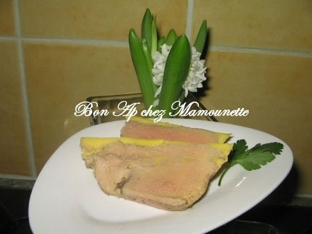 Foie gras maison au pommeau de Normandie 006