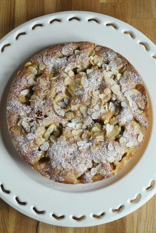 Gâteau aux mirabelles & à la farine de pois chiche_4