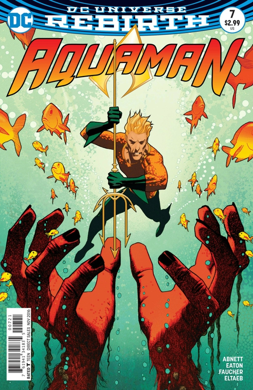 rebirth aquaman 07 variant