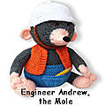 Engineer andew the mole - twins