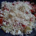 Chopska salata (salade bulgare)