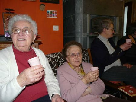 Tante Marie 90 ans D18