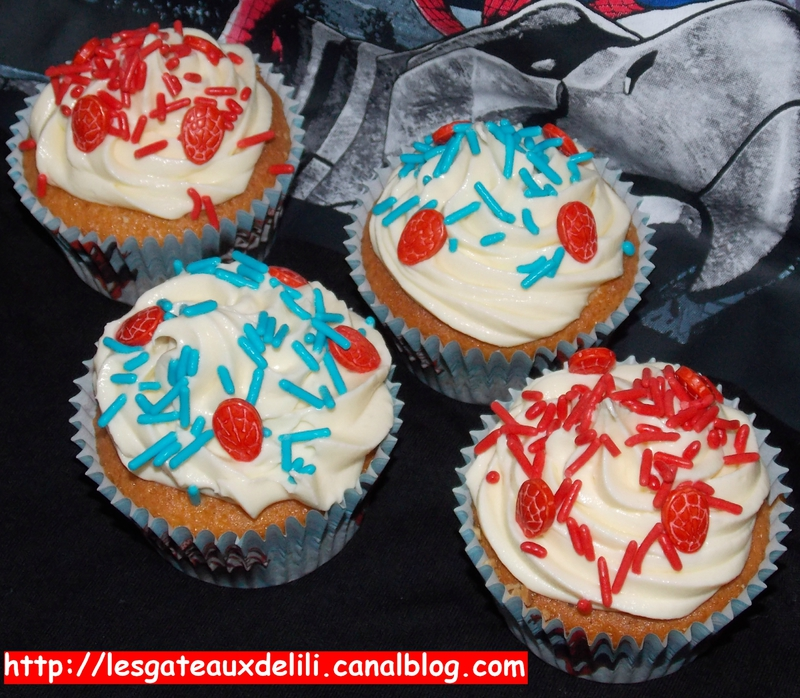 2014 05 25 - cupcakes spiderman (5)