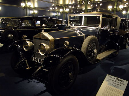 ROLLS ROYCE Silver Ghost Landaulet 1924 Musée National de l'Automobile de Mulhouse, collection Schlumpf