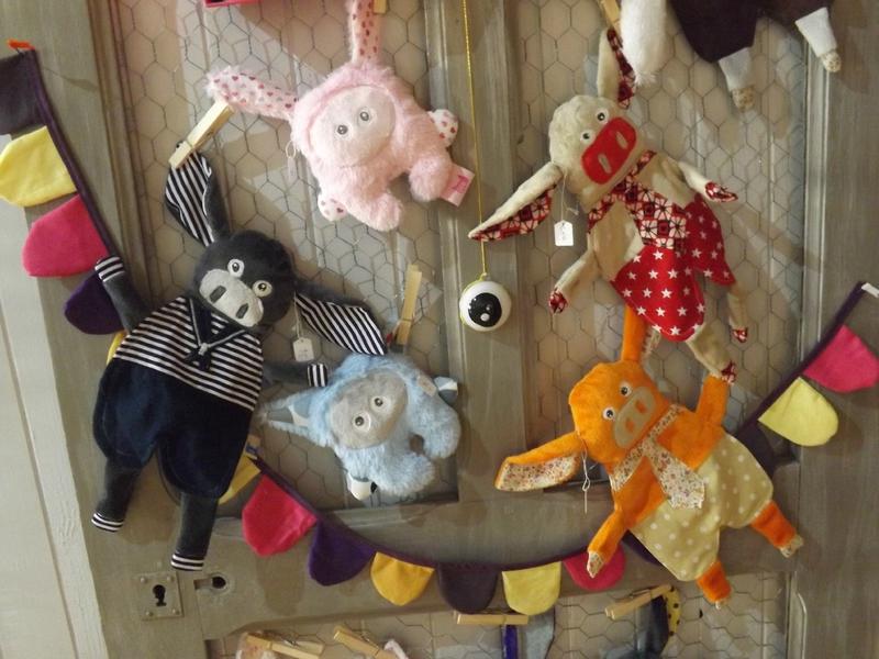 doudou lapin, chat , cochon et cochon breton chatfildroit