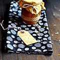 ☆ calendrier de l'avent : 1 surprise par jour ☆ jour 2 : confiture de poires au gingembre et à la vanille