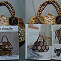 Sac hexagones au crochet et patchwork