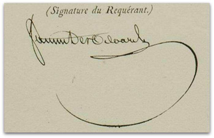 signature z
