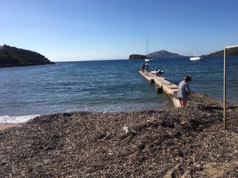 Cap Sounio, retour à l'annexe 111116