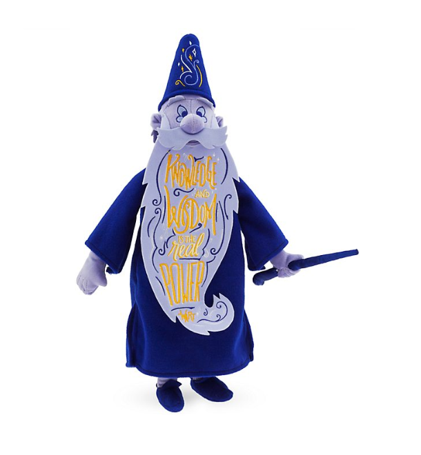 sept 2019 - wisdom disney - merlin - peluche