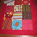 Couverture style patchwork