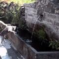 fontaine-abreuvoir à Besse