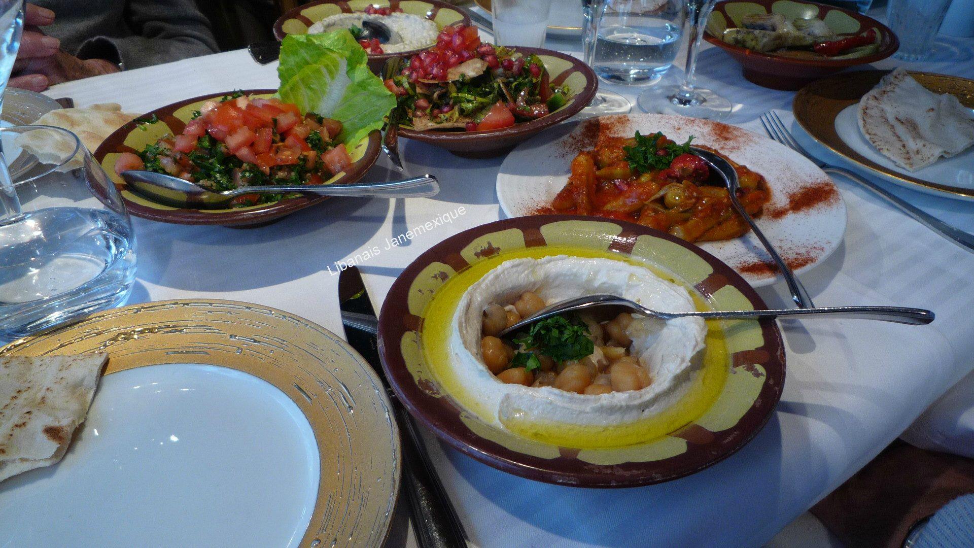 Mezze Libanais@Janemexique