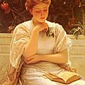 In the orangery by Charles Perugini