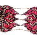 Bracelet Ellygator rouge bronze 2
