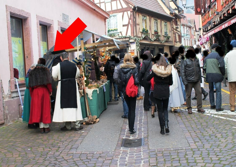 MARCHE NOEL MEDIEVAL RIBEAUVILLE 023