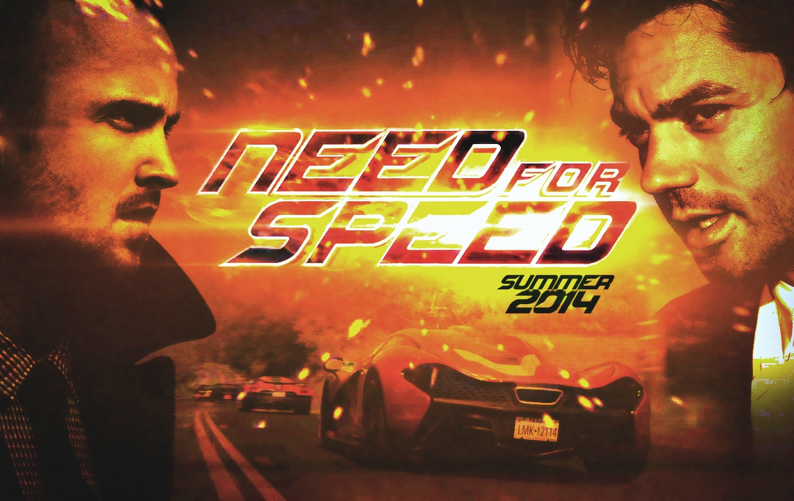 Affiche Need for Speed 2014