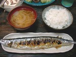 Sanma_2C_miso_soup_and_rice_by_jetalone