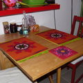 Mes beaux sets de table