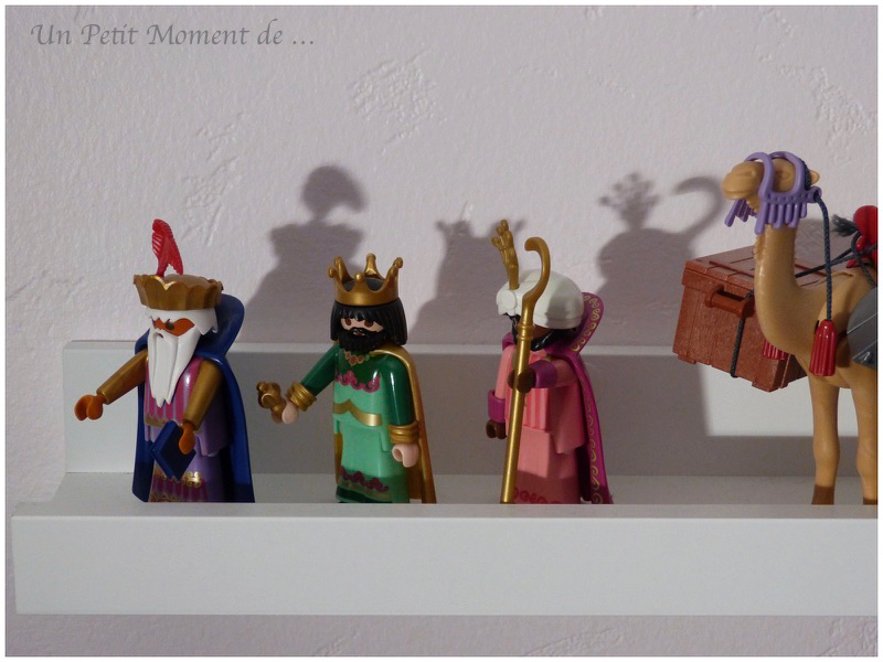 Playmobil noël 2018 rois mages