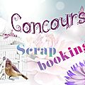 Concours scrapbooking