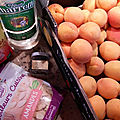 Confiture d'abricots, amandes, vanille et rhum