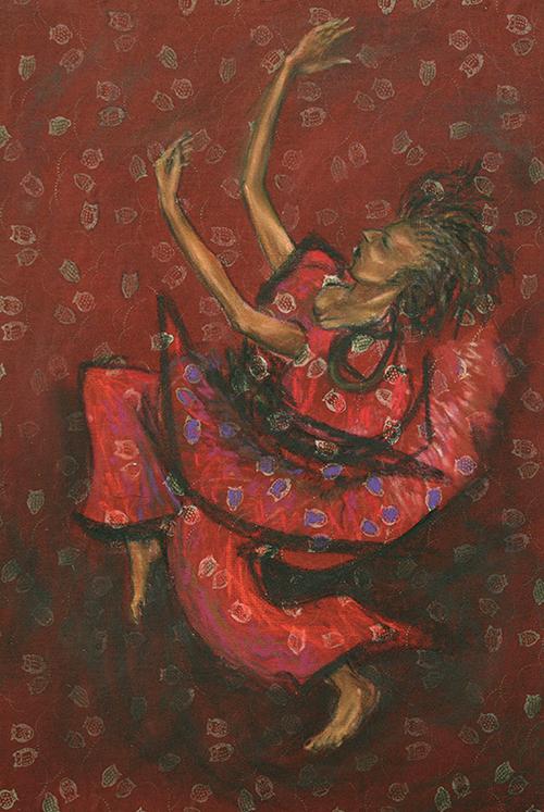 Danse africaine, 30/44 cm, 450 €