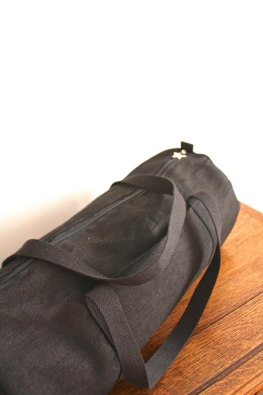sac polochon noir
