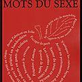 Le bouquin des mots du sexe - agnès pierron - editions robert laffont bouquins