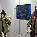 Expo 40 ans de Gundam